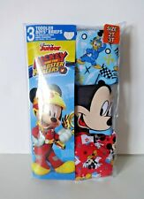 Mickey Mouse and Roadster Racers toddler boys 3 pair briefs 2T/3T