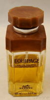 Vintage Hermes France EQUIPAGE  EAU DE TOILETTE 3.3 oz 100 ml - missing 1/3