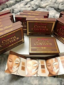 Too Faced -- Cocoa Contour Chiseled to Perfection Palette - Medium to Dark Color