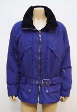 Nils Skiwear Womens Size 14 Jacket Coat Purple Black Ski Snowboard Vintage