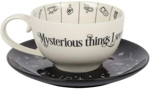 Tea/Coffee -Tea Cup/Teacup & Saucer - China - FORTUNE TELLING