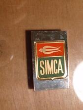 New listing Simca Automobile, Vintage Enameled .925 Sterling Silver Bar 22.6grams Sku#11882