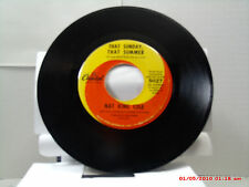 NAT KING COLE -(45)- THAT SUNDAY, THAT SUMMER / MR. WISHING WELL - CAPITOL- 1963