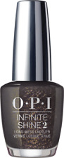 OPI Infinite Shine Gel Effect Nail Polish in top of the package with a beau J50