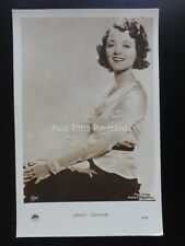 Actress JANET GAYNOR RP Postcard by Fox Films 975