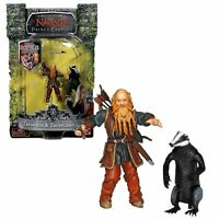 Chronicles of Narnia, the Prince Caspian  Trumpkin & Trufflehunter Figure Disney