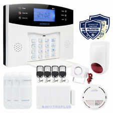 HOMSECUR GSM Wireless Burglar Alarm with Multiple Sensors and Flash Siren