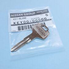 GENUINE Nissan Blank Metal Master Spare Key KEY00-00066   SAME DAY FREE Shipping