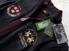 LA MARTINA Herren Strickjacke Gr. L  grau melange   UVP: 249€  Neu mit Etikett.