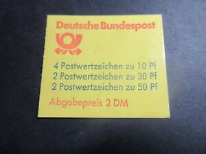 STAMP BOOK,UNUSED COMPLETE, GERMANY HOUSES, 2DM, 8 STAMPS EXCELLENT