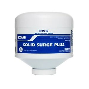 Ecolab Solid Surge Plus, Power Laundry Detergent  RRP$190 - HUGE CLEARANCE!