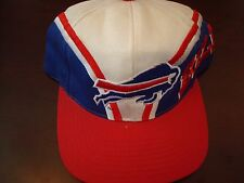 BUFFALO BILLS DPE WAVE SPLASH    SCRIPT NEW VINTAGE 90'S HAT CAP  SNAPBACK