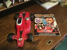 Vintage Bill Baily/Stp Racing Liquor Decanter from 1975 & Racing Magazine