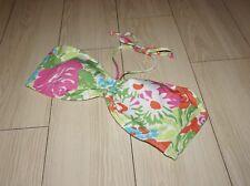 LAUREN RALPH LAUREN Swimwear Bathing Suit Bikini Halter Top Colorful Floral 14