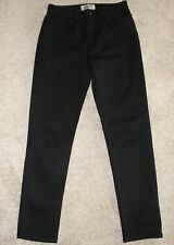 New Womens Naked & Famous Jeans Sz 28 Black Super Stretch Skinny