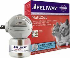 Feliway MultiCat Calming Diffuser Kit (30 Day Starter Kit), Vet Recommended