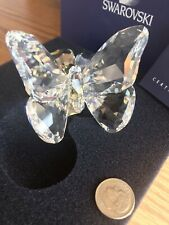 swarovski crystal figurines Butterfly On Flower