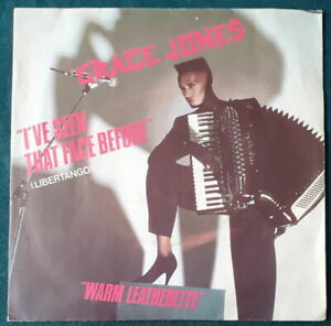GRACE JONES  I'VE SEEN THAT FACE BEFORE(LIBERTANGO) FRENCH SP ISLAND 1981