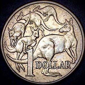 1984 Austrailia One Dollar Kangaroo World Coin $1