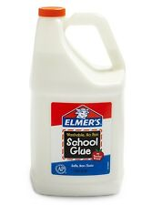 Elmer's Liquid School Glue Washable 1 Gallon 1 Count - Great For Making Slime
