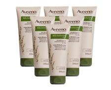 6 x 200ml Aveeno Daily Moisturising Lotion And Dry Skin Moisturiser