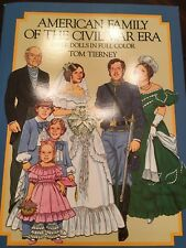 American Family Of The Civil War Era Paper Doll Book