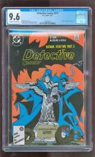 CGC 9.6 DETECTIVE COMICS #577 D.C. 8/1987 BATMAN YEAR TWO STORYLINE MCFARLAND