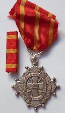 Médaille bronze argenté UNION SAPEURS POMPIERS MIDI PYRENEES CROIX DU LANGUEDOC