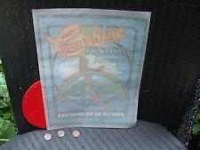 vintage Hawaii 1970's Sunshine Festival Concert Tee Shirt Iron-On . hawaiiana