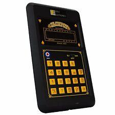 Vintage Electronic Hand-Held 1980 Entex Gin Rummy Blackjack LCD Video Game