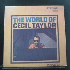 Cecil Taylor - The World Of Cecil Taylor LP Mint- GJS 9006 Italy 1986 Vinyl