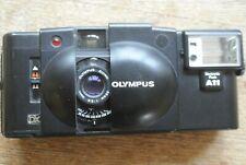 Olympus XA3 Zuiko 35mm 1:3.5 Lens + A11 Flash 35mm Camera. NICE WORKING