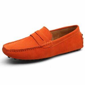 Mocasines de Cuero de Alta Calidad Para Hombre Zapatos Casuales Verano Mocasines