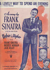 A Lovely Way To Spend An Evening - Frank Sinatra - 1943 Sheet Music