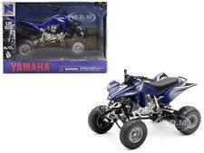 YAMAHA YFZ 450 ATV BLUE 1/12 MOTORCYCLE MODEL BY NEW RAY 42833 AS