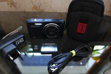 Samsung DualView DV90 16,1 MP-5x Zoom-HD Video Selfie Digitalkamera - Schwarz
