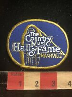 Vintage Nashville Tennessee COUNTRY MUSIC HALL OF FAME Patch 86N4