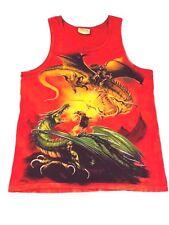 41b32c31f4c37 Vintage DRAGON shirt Tank Top Fantasy Tye Dye Shirt D D Magic The Mountain M