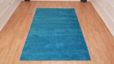 Shaggy Area Rugs Solid Colors 5x7 and 8x10 Contemporary Living Room Carpet Decor