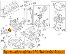AUDI OEM 14-16 A6 Quattro-Engine Crankshaft Crank Seal 079103051D