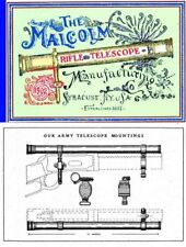 Malcolm Rifle Telescope Manufacturing Co. 1902 Catalog