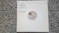 New Order - Truie faith US 12'' Disco Vinyl PROMO