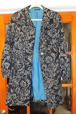 Beautiful Ladies Sisley Italy Flower Motif Coat/Jacket Sz. 42