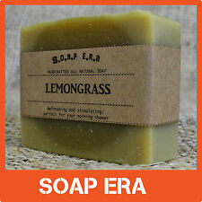 1 x Lemon Grass soap- Wake up to a fresh, clean scent to start your day handmade