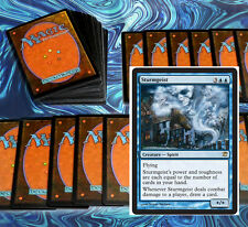 mtg BLUE SKIES DECK Magic the Gathering rare 60 cards + sphinx illusory angel