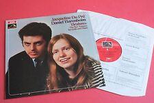 ASD 2436 Jacqueline Du Pre Barenboim Brahms Cello Sonatas HMV STEREO UK LP
