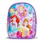 """Disney Princess Girls Toddler Mini Backpack Bookbag Kids Baby 10"""" Gift Toy Pink"""