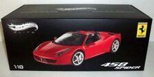 Voitures, camions et fourgons miniatures rouges en acier embouti pour Ferrari