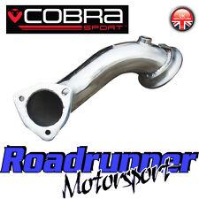"""VX01b Cobra Sport ASTRA COUPE TURBO DE-CAT TUBO DI SCARICO pre CAT TUBO TUBI DI SCOLO 2.5"""""""