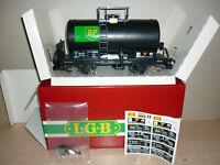 """LGB 4040B RhB-Kesselwagen """"BP"""" Sammlermodell in OVP, seltene Variante Langschild"""